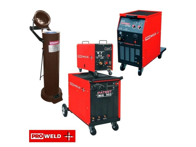 25/06/2021 - En el día de hoy recibimos una nueva importación de equipos Mig compactos y con cabezal separado, sus repuestos y horno portátil para electrodos de la marca Proweld.