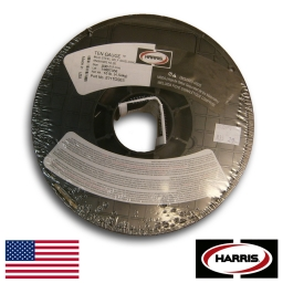 Alambre Mig tubular E 71 TGS de 0,80 mm. marca Harris