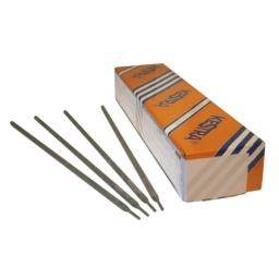 Electrodo para acero, con revestimiento básico AWS E 11018-M (KST 110M) de 3,25 mm.