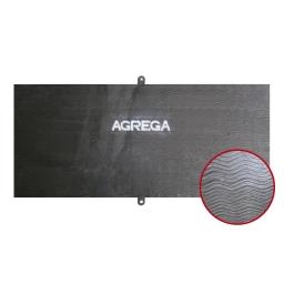 Chapa revestida bimetalica espesor 5+3 mm. KST 600 (60 Rc) de 1220 x 2740 mm. marca Kestra