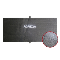 Chapa revestida bimetalica espesor 6+4 mm. KST 600 (60 Rc) de 1220 x 2740 mm. marca Kestra