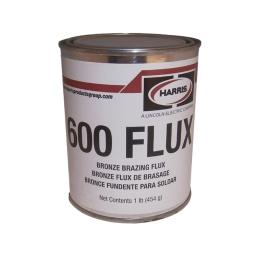 Fundente en polvo para bronce (600 Flux) envase de 454 grs. marca Harris