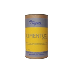 Fundente en polvo para endurecimiento (CIMENTOX) envase de 1 kg. Marca Oxigen
