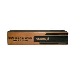 Electrodo para acero, con revestimiento básico AWS E 7018 de 4,00 mm.