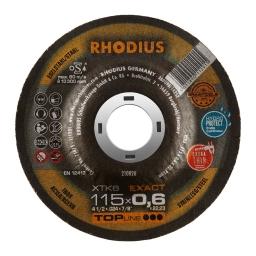 Disco de corte de 115 x 0,6 mm. XTK6 EXACT