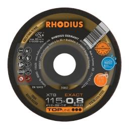 Disco de corte de 115 x 0,8 mm. XT8 EXACT