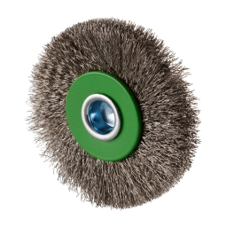 Cepillo circular ondulado 60 x 12 x 15 mm. vastago de 6,0 mm. (hilo 0,20 mm.) ERBW