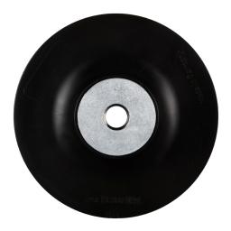 Soporte de apoyo flexible de 115 mm. x M14 para discos de fibra RHST