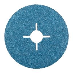 Disco de fibra de 115 mm. grano 60 KFZ