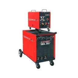 MIG PROWELD 503 trifásica 220V380V (50 a 500 amp.) conexión de 10 mts. y carro de 4 rodillos