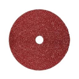"""Disco abrasivo CUBITRON II de 4 (1/2"""" x 7/8"""") grano 80 (982C) para acero al carbono. Marca 3M"""