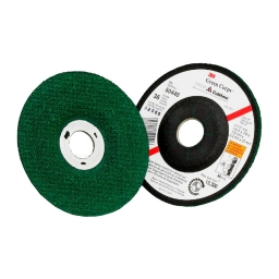 "Disco abrasivo flexible GREEN CORPS 4 1/2"" x 3,2 mm. grano 36. Marca 3M"