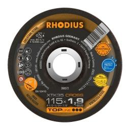 Disco de corte de 115 x 1,9 mm. XTK35 CROSS