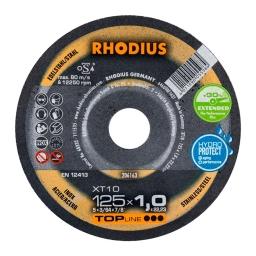 Disco de corte de 125 x 1,0 mm. XT10