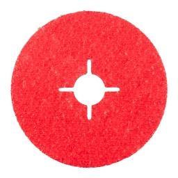 Disco de fibra de 115 mm. grano 36 KFK