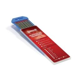 Electrodo de tungsteno 1,0 mm. 2% torio (punta roja)