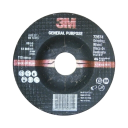 "Disco de desbaste 4 1/2"" x 6,3 mm. marca 3M"