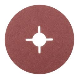 Disco de fibra de 115 mm. grano 120 KFS