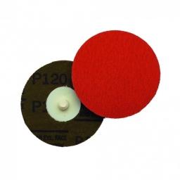"Disco abrasivo sistema Roloc de 4"" grano 120 (785C). Marca 3M"