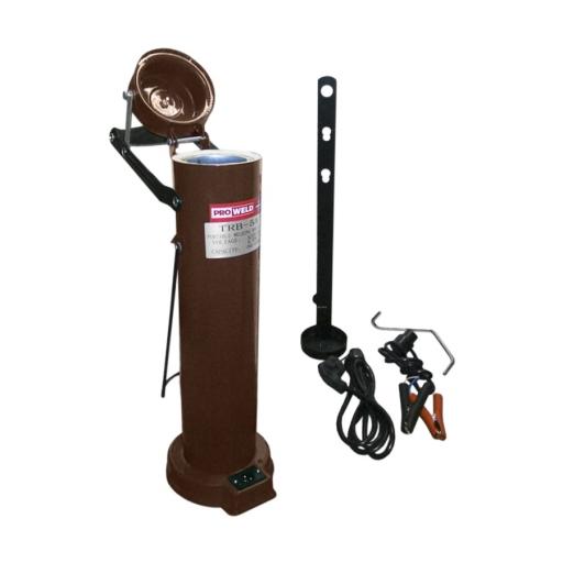 Horno portatil para electrodos 5 Kg. - 110V DC / 220V AC